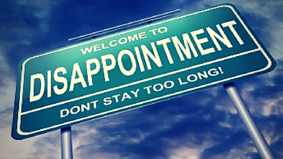 Dealing with Disappointments as a Believer