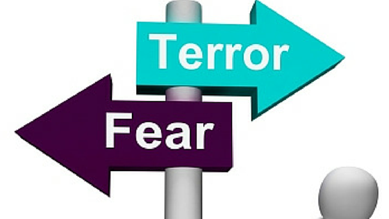 Guest Blog: Should We Live in Fear?