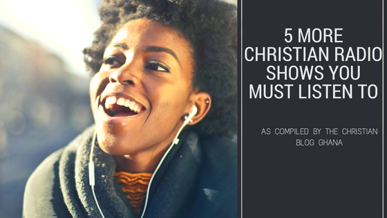 5 More Christian Radio Shows You Must Listen to