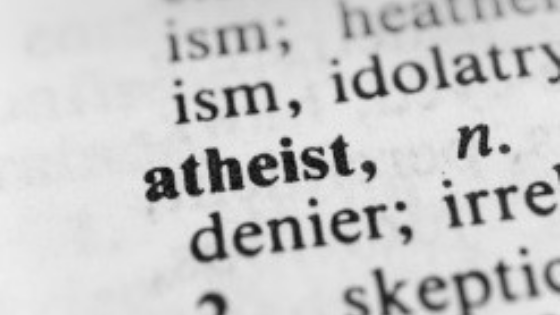 One Day I met with anAtheist
