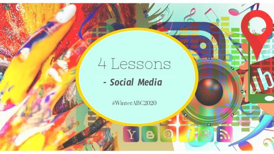 #WinterABC – Social Media, 4Lessons